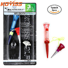 "KOVISS GOLF Velocity Spring GOLF Ball TEES 3""(76mm) 2pcs set [ VS101 ]"