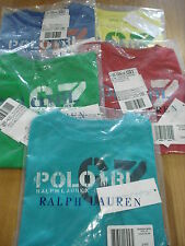 POLO RALPH LAUREN BABY BOYS SHORT SLEEVE SCREEN PRINTED T- SHIRTS age 18-24mths