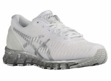 NEW WOMEN ASICS GEL-QUANTUM 360 RUNNING TRAINERS SHOES- WHITE / LIGHTNING / SNOW