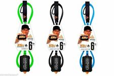 Komunity Project KS1.1 Ultimate Super Comp Surfboard Leash 6ft NEW 5.2mm Cord