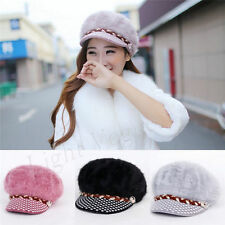 New Womens Ladies Winter Warmer Knitted Crochet Slouch Baggy Beanie Hat Cap 147