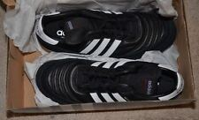 Adidas Mundial Goal indoor soccer sneakers shoes black new leather