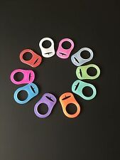 MAM / KAM Baby Pacifier Style Dummy Adapters Ring Clip Soothers NUK