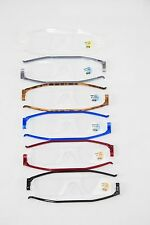 Nannini Compact One Optics Travel Reading Glasses Made in Italy Thin Anallergic