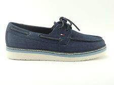 Tommy Hilfiger Sandals Ladies Shoes TRAINERS Wedge heel Size 37 MACY 3D JEANS