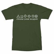 Choose Your Weapon Dice Shirt Dungeons & Dragons D&D D20 Dungeon Master rollplay