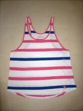 Abercrombie & Fitch Womens Sleeveless Stripe Tops Sz S/M - NWT