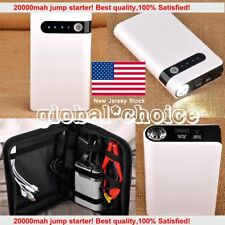 20000mAh Mini Emergency LED Car Jump Starter Battery Charger Booster Power Bank