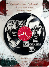 Breaking Bad vinyl clock, vinyl record clock for home decor, wall clock 137