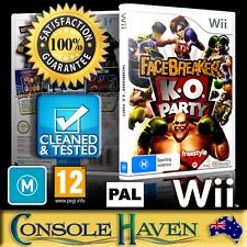 (Wii Game) Facebreaker K.O. Party / Face Breaker (M) (Sports: Boxing) PAL