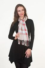 Daisy Woven Womens Lightweight Fashion Design Argyled Multicolor Shawl Scarf