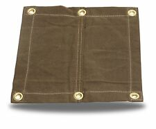 18oz Heavy Duty Canvas Tarp with 2' Grommets-Water,Mold,and Mildew Resistant-USA