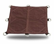 18oz Heavy Duty Canvas Tarp with D-Rings - Top Quality Covers made in the USA!