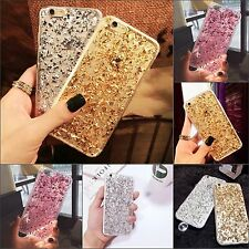 New Bling Luxury Sparkly Glitter Clear Silicone Case Skin Cover For Apple iPhone
