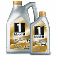 Mobil 1 0W-40 New Life Fully Synthetic Engine Oil 0W40 Mobil1 5 Litre 1L