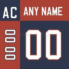 IIHF Olympic Hockey Team USA 2002 Navy Jersey Customized Number Kit un-stitched