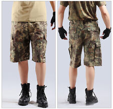 Summer Mens Simply Pants Tactical Cargo Shorts US Trousers Combat Work Rip-Stop