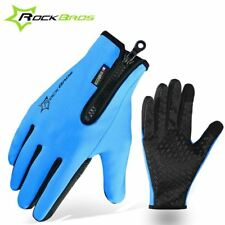 ROCKBROS Winter Gloves Fleece Thermal Warm Bike Sport Gloves Motorcycle Cycling