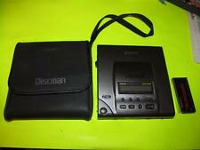 Sony Discman Walkman D-303 Audiophile CD Player Works and Looks Excellent