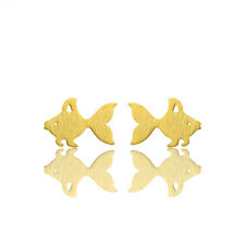 Earring Fashion Jewelry Bridesmaid Goldfish Stainless Steel Earrings