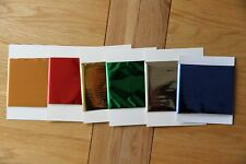 Craft Dragon TODO hot foil mixed packs fantasy lace or holo or metallic colours
