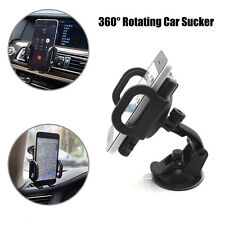 360° Rotating Car Windshield Sucker Holder Stand Car GPS For Samsung S8/S8 Plus