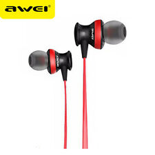 Awei Headphone With Mic Stereo Earphone Super Bass Headset Earphone For Phones
