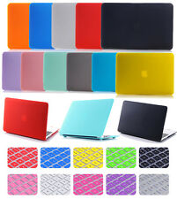 """2in1 Rubberized Matte Hard Case Protective Skin Shell for MacBook White 13""""A1342"""