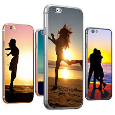 Sunset Silhouette Print Phone Case Cover for iPhone 6S 7 Samsung Galaxy S6 Calm