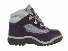 Timberland Toddlers Field Boot Leather & Fabric Purple/Grey