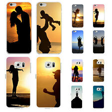 Sunset Silhouette Print Phone Case Cover for iPhone 6S 7 Samsung Galaxy S6 Sweet