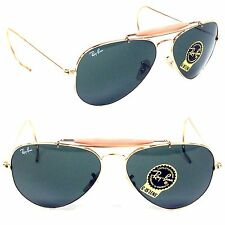 RAY BAN RB3030-1 Aviator Pilot Men Sunglasses Metal New Crystam Made In Italy