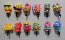 Spongebob Squarepants Cell Phone Charm Dust Plug Smartphone Patrick Sandy Squidw