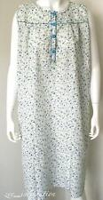 Ladies Plus Size Summer Pyjamas Sleeveless Lightweight Cotton Nightie Sz 12-22