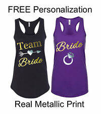 Bachelorette Tank Tops Personalized Bridesmaid Gifts Bridal Party Tank Tops
