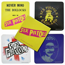* SEX PISTOLS - NEVER MIND THE BOLLOCKS - OFFICIAL COASTER SET public image ltd