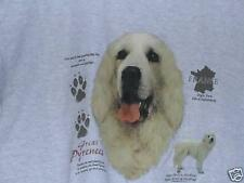 GREAT PYRENEES HISTORY  Tee Shirt Many Colors Available sizes SMALL To 4XL NWOTS