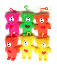 Flashing Puffer Teddy Bear Squeeze Abreact Toy Stress Reliever Ball Autism Mood