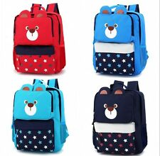 Kindergarten Primary School bag Child Students Backpack Kids Brown Bear Rucksack