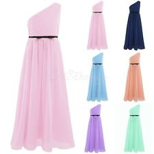 Girls Flower Communion Party Prom Princess Kids Wedding Bridesmaid Pageant Dress