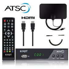 USA 1080P Digital ATSC Receiver DVB-C Clear QAM Cable TV Tuner Antenna Converter