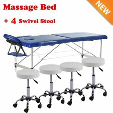 84 Adjustable Facial Massage Salon Bed Spa Chair Tattoo Table w/Hydraulic StoolE