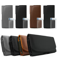 PU Leather Horizontal Belt Pouch Holster Case For Samsung i9300i Galaxy S3 Neo