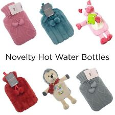 Wonderful Novelty Hot Water Bottles With Super Soft Cuddly Covers