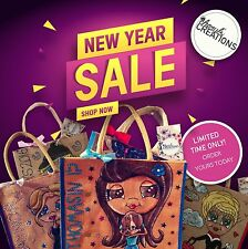 PERSONALISED JUTE BAG | SHOPPING BAG | HAND PAINTED | UNIQUE | **SALE NOW ON**