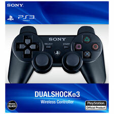 Brand New Wireless DualShock3 Controller for PlayStation PS3 - Black White Blue