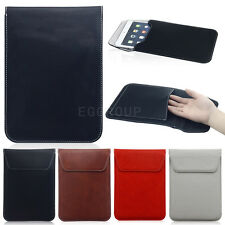 """Universal Magnet Leather Sleeve Pouch Bag Case Cover fr 7"""" 7.9"""" 8"""" Tablet PC MID"""