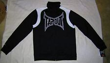 NWT Mens TAPOUT Black & White Track Jacket - size L