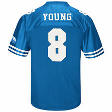BYU Cougars NCAA Steve Young #8 Heritage Player Jersey (Royal)
