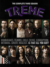 Treme ~ The Complete 3rd Third Season 3 Three ~ BRAND NEW 4-DISC DVD SET